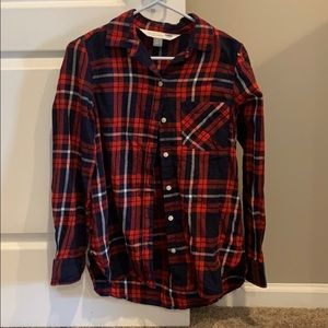 Old navy small flannel shirt